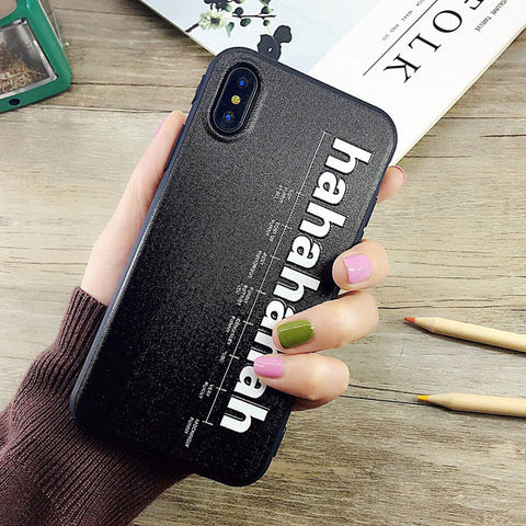 Cool - HaHaHa iPhone Case iPhone 8