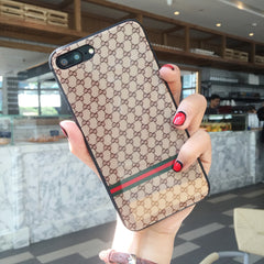 Criss cross Patterned iPhone Case