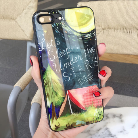 Under Stars iPhone Case
