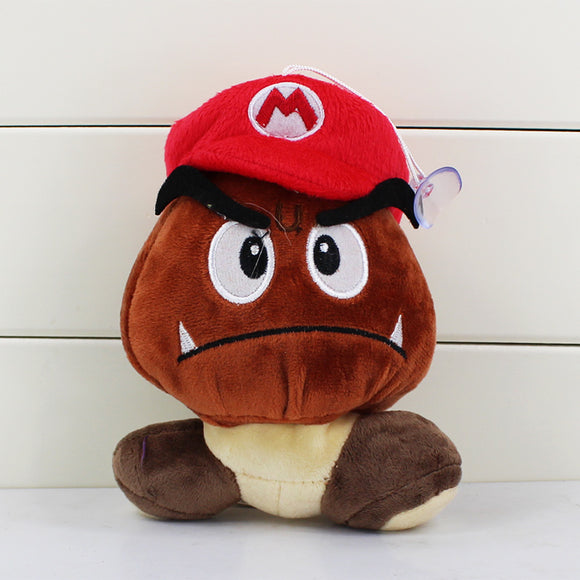 Super Mario Bros Goomba Mario Stuffed Dolls 12CM