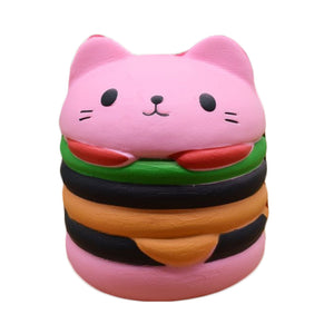 Squishy Toys pink burger