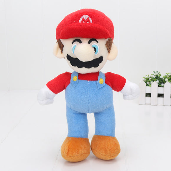 Super Mario Bros Plush Dolls 25cm Mario