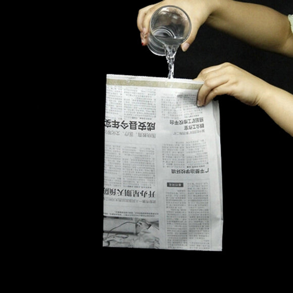 Gag Toys Drink Water Newspaper Close-Up Newspapers
