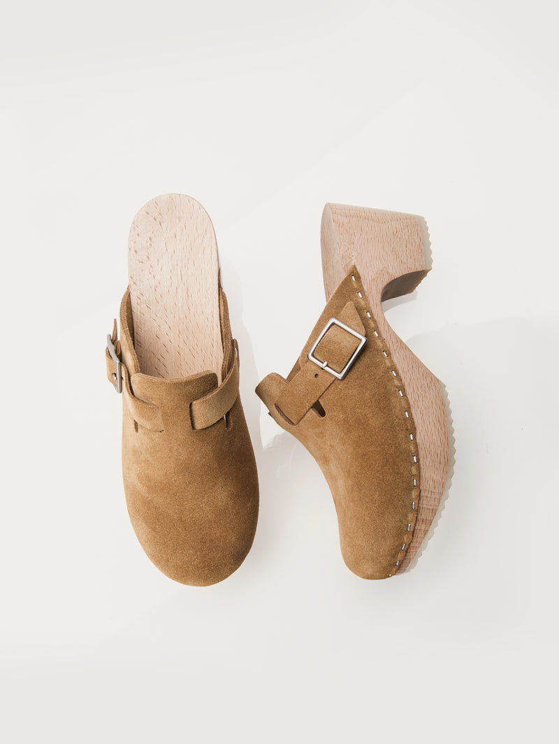 Perry Clogs Camel - Size 9