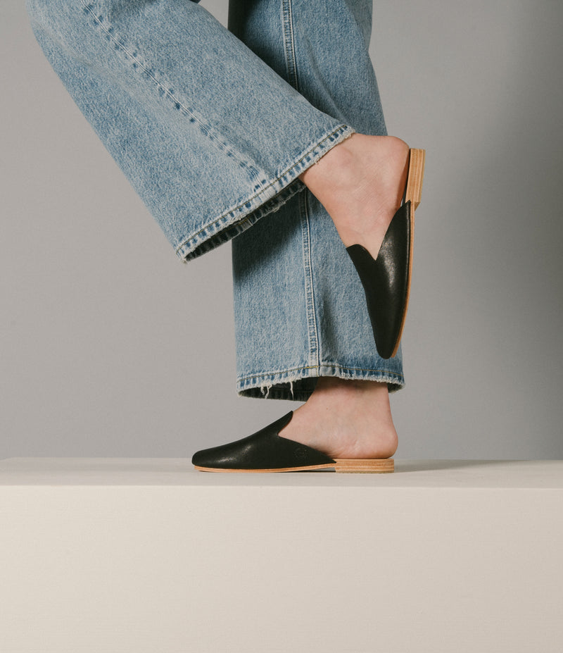 Wallace Mules - Black