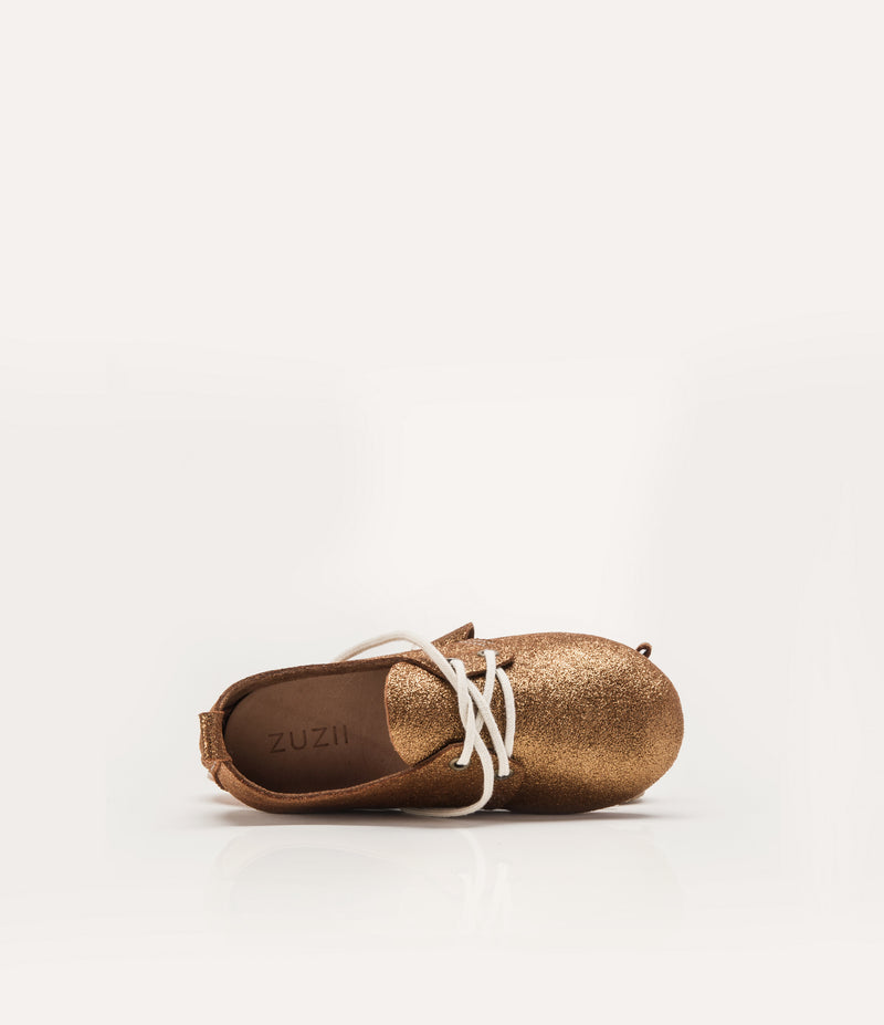 Kids Stardust Oxfords - Gold