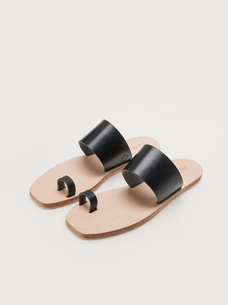 Lennox Sandals - Black