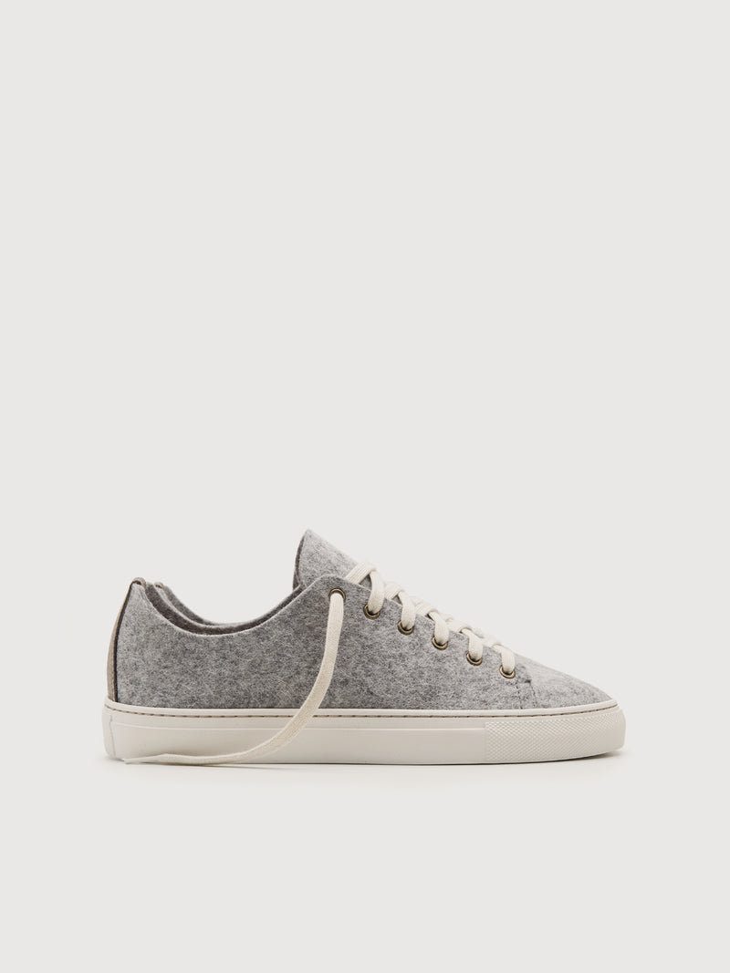Wool Lowtops Grey - Size 11