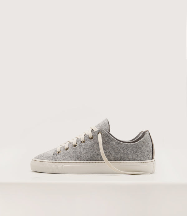 Wool Lowtops - Grey