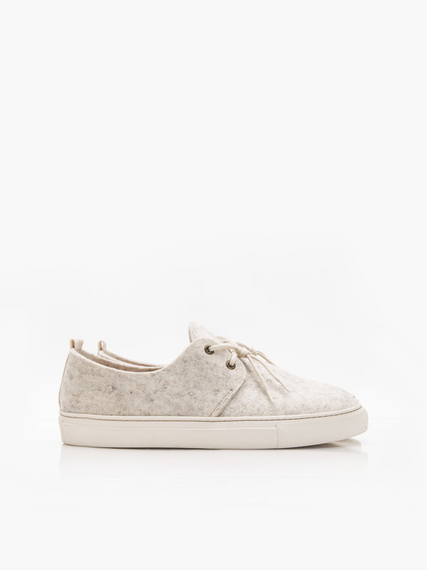 Wooly Sneakers - Ivory