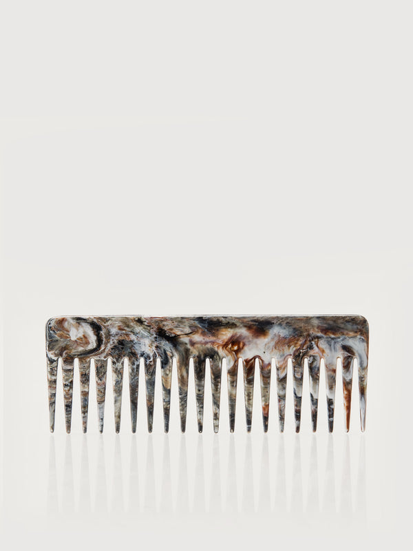 Hair Comb - Marble