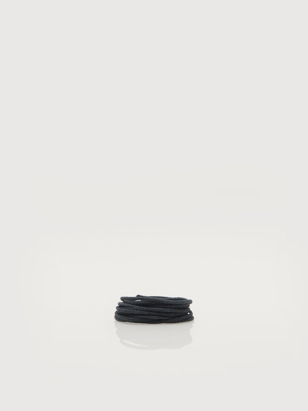 Leather Clog Laces - Black