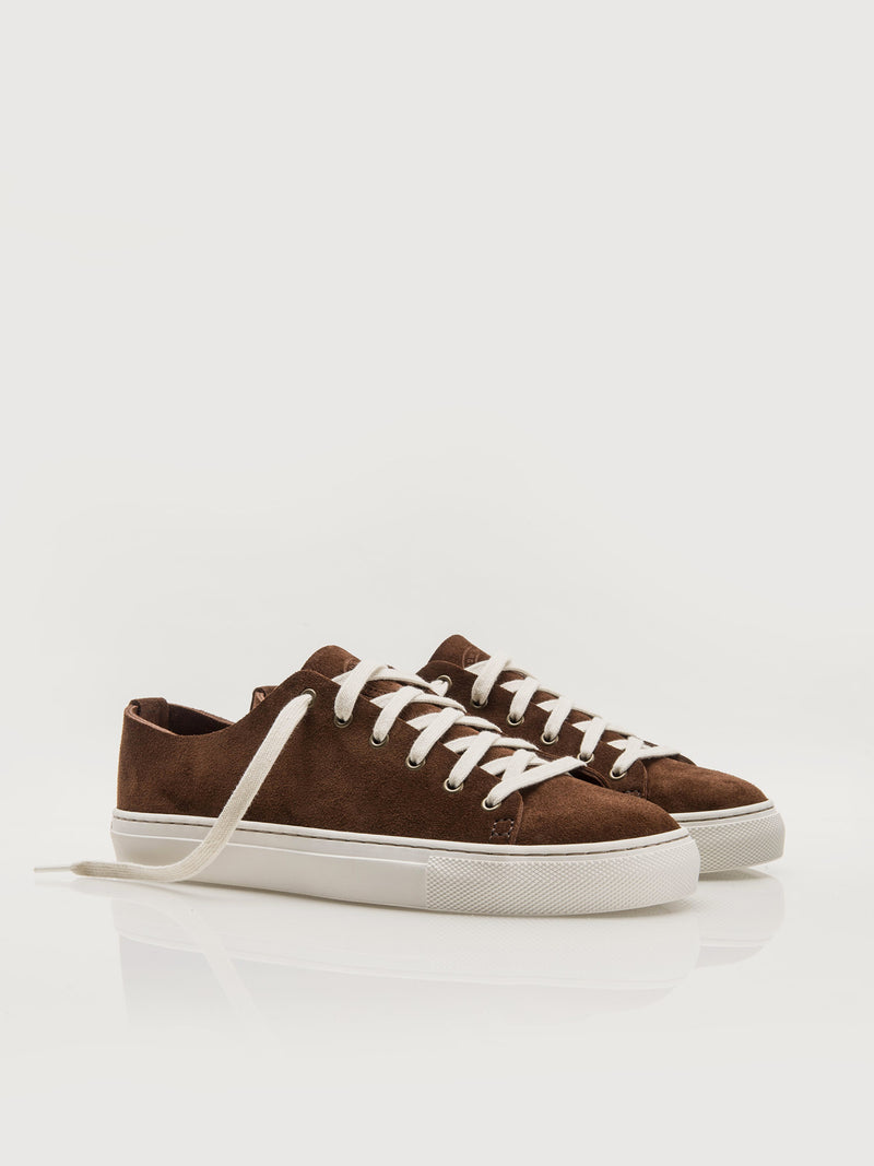 Suede Lowtops - Mink