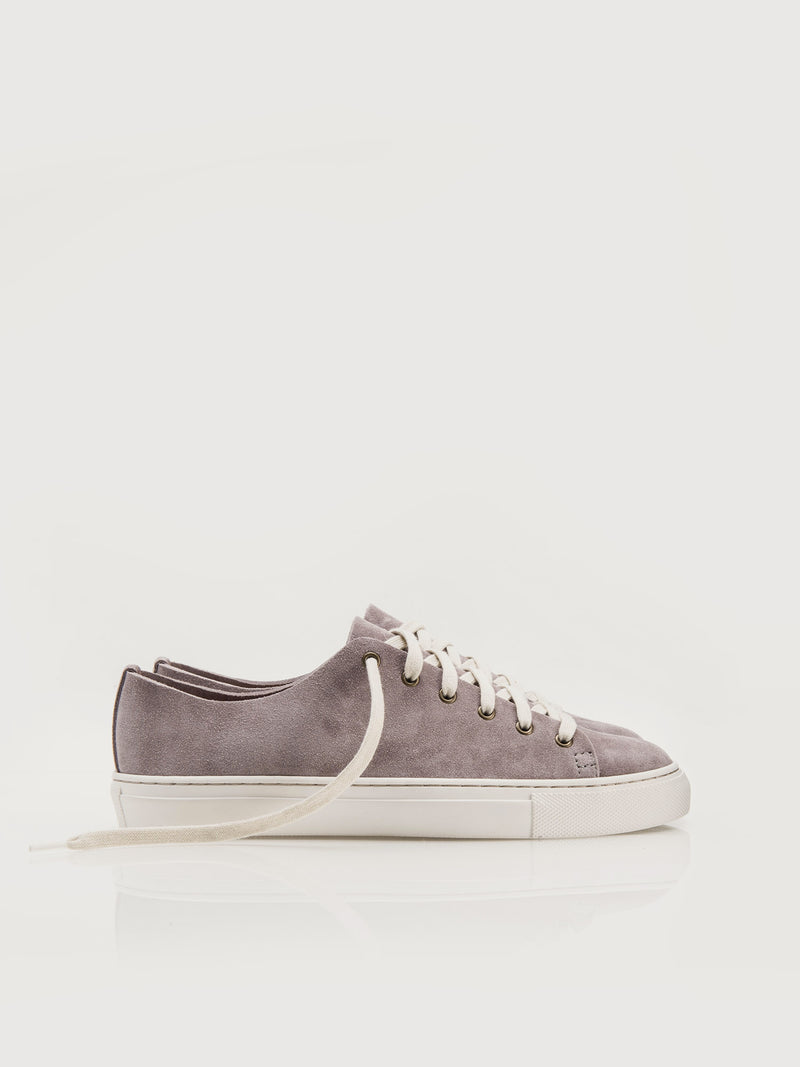 Suede Lowtops - Mauve