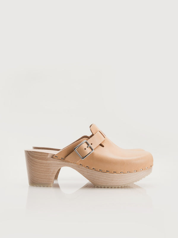 Perry Clogs - Natural