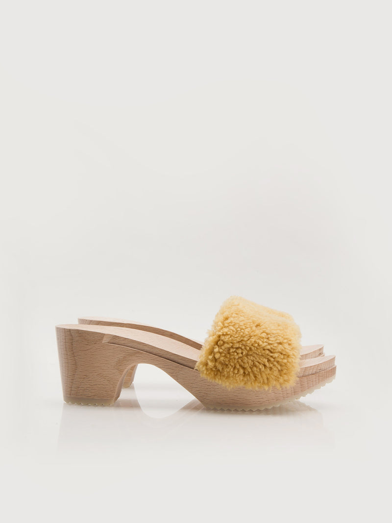 Midi Clogs - Gold