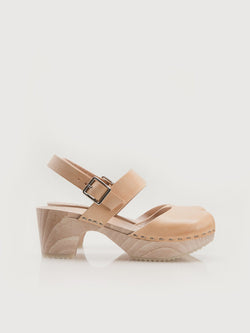 Jane Clogs Natural - Size 10