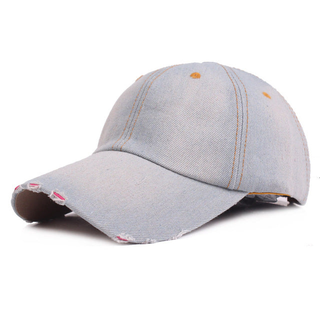 Martin Baseball Cap – Sugar Denim 39975c733ae