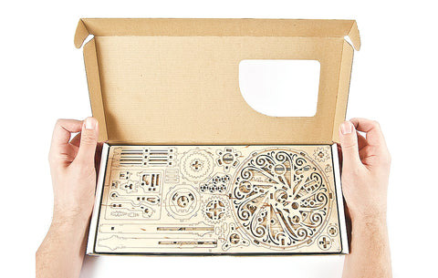 Mechanical Flower Model Building Kit
