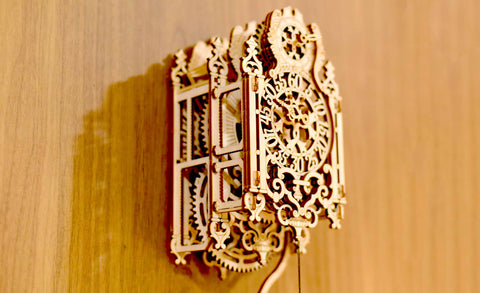 Hanging Mechanical Pendulum Clock Building Kit