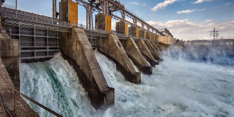 Hyrdroelectric power dam