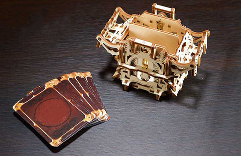 Mechanical Card Deck Box Building Kit