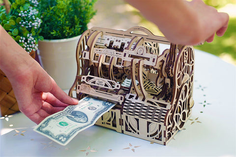 Mechanical Cash Register In Use
