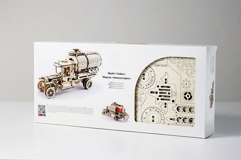 Mechanical Tanker Truck Building Kit