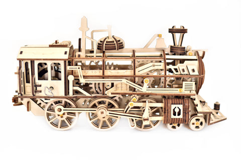 Mechanical Wind Up Train Model Building Kit