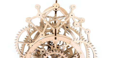 Mechanical clock escapement mechanism