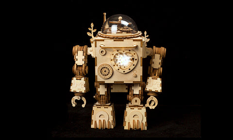 Romblock Robot Music Box Model Kit