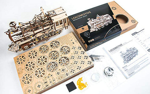Model train building kit