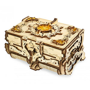 Amber Antique Jewelry Box Kit