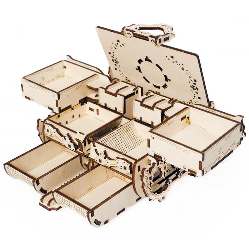 Mechanical Antique Jewelry Box Kit