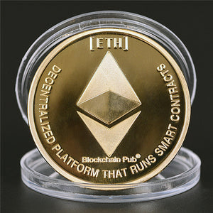 Original Cryptocurrency Collectors Coins