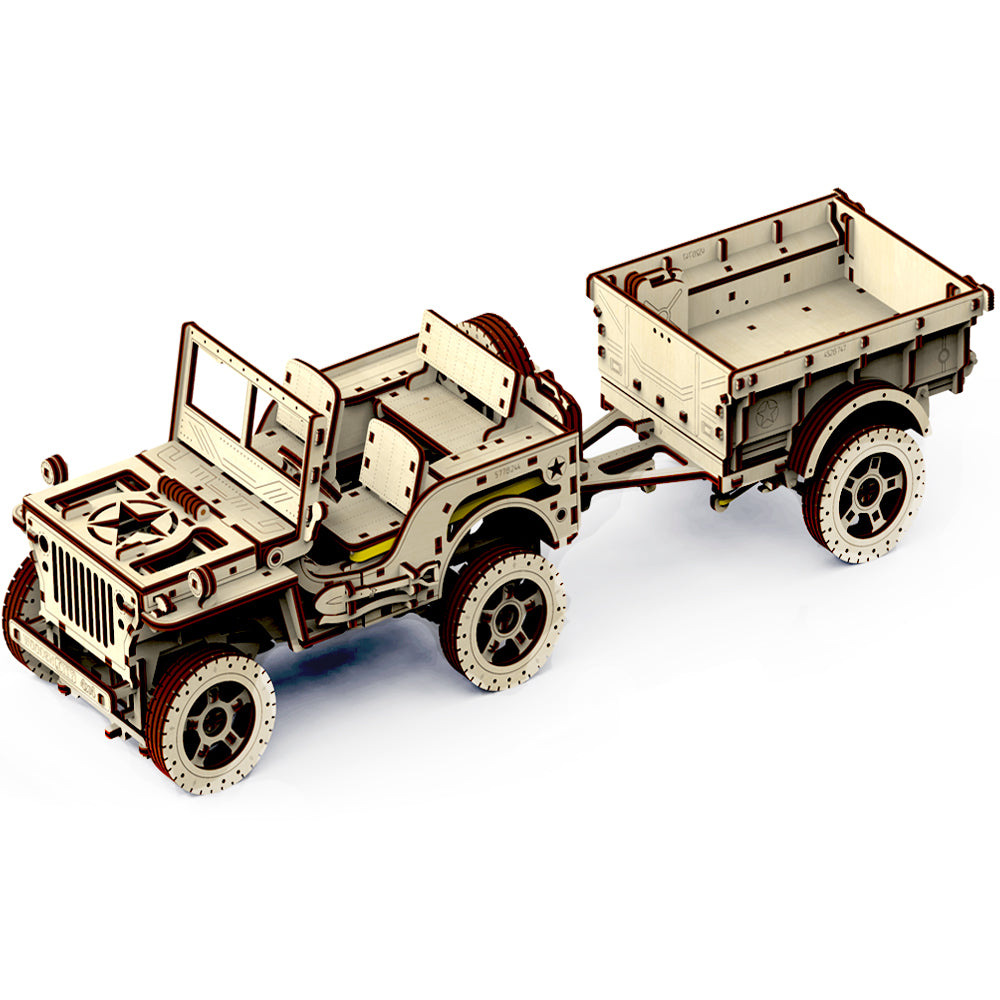 Military Willys Jeep Building Kit