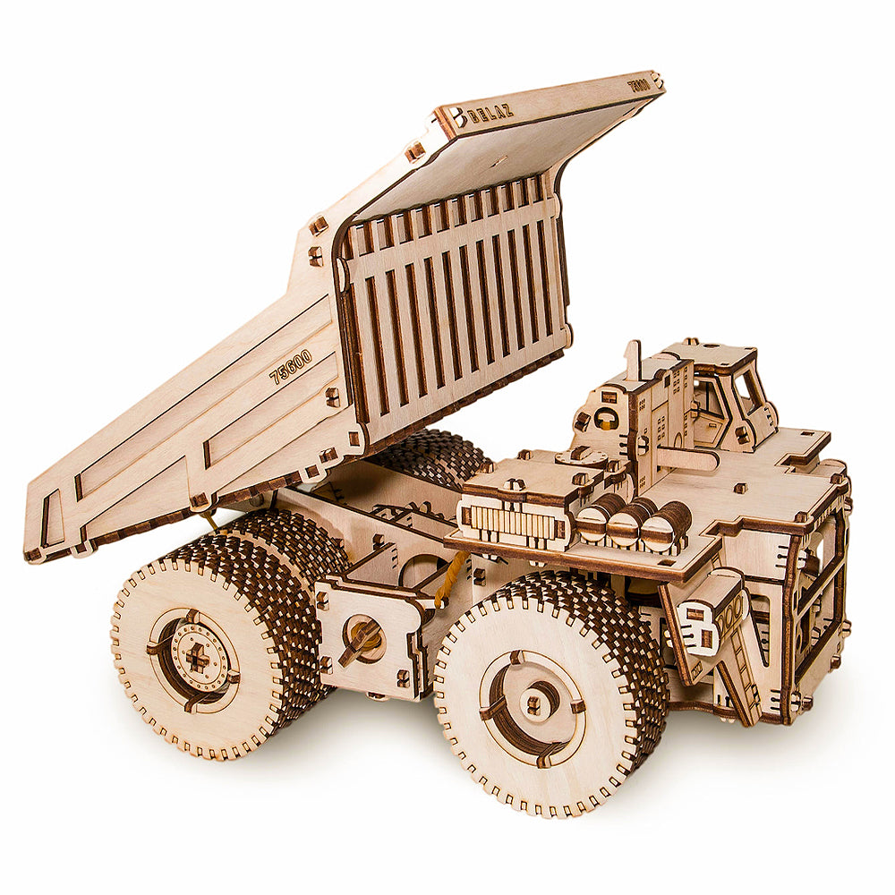 Mechanical Dump Truck Model Kit