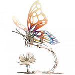 Mechanical Butterfly Model Building Kit