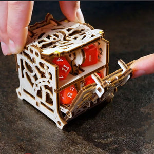 Mechanical Dice Storage Case