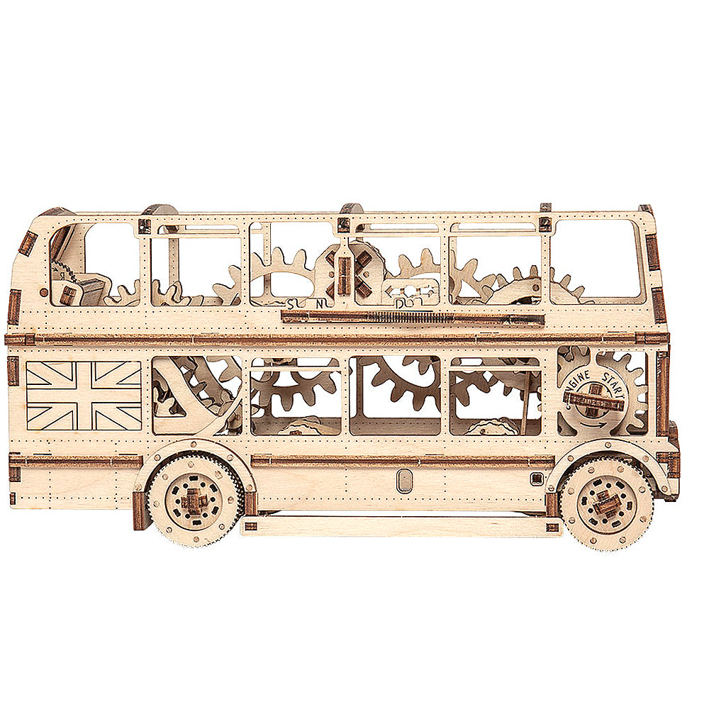 Mechanical London Bus Building Kit