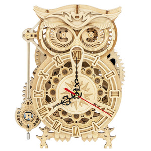 Owl Pendulum Clock Kit