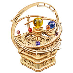 Orrery Starry Night Music Box