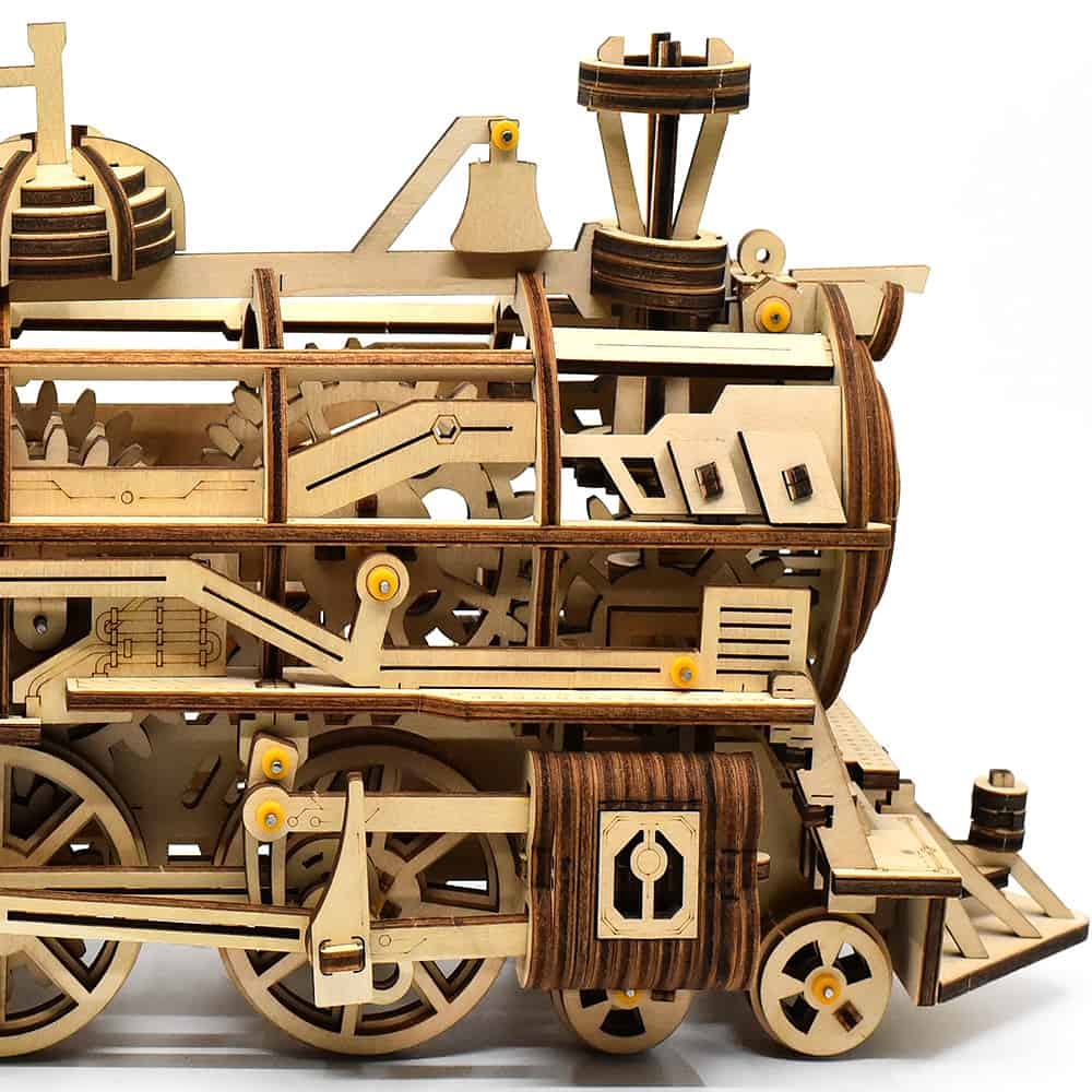 The Polaris Express Train Building Kit