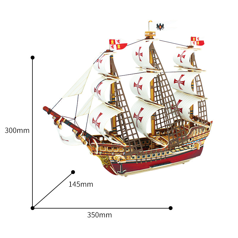 Santa Maria Ship building Kit