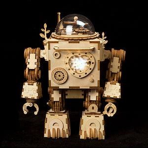 Romblock Robot Music Box Model Building Kit