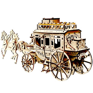 Mechanical Stagecoach Model Kit
