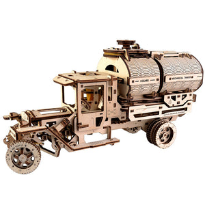 Mechanical Tanker Truck Model Building Kit