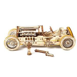 Vintage Race Car Building Kit