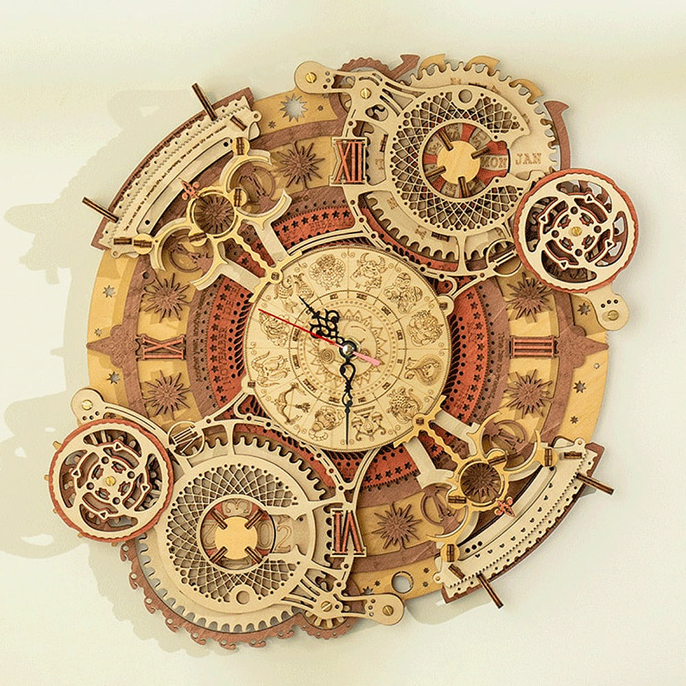 Zodiac Wall Clock Kit