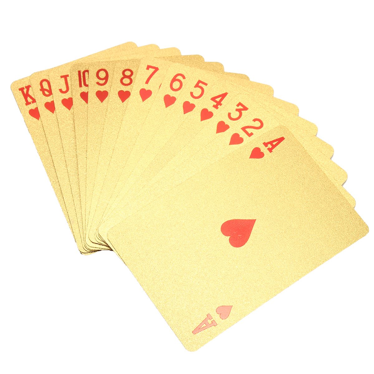 Royal Polished Silver & Gold Playing Cards